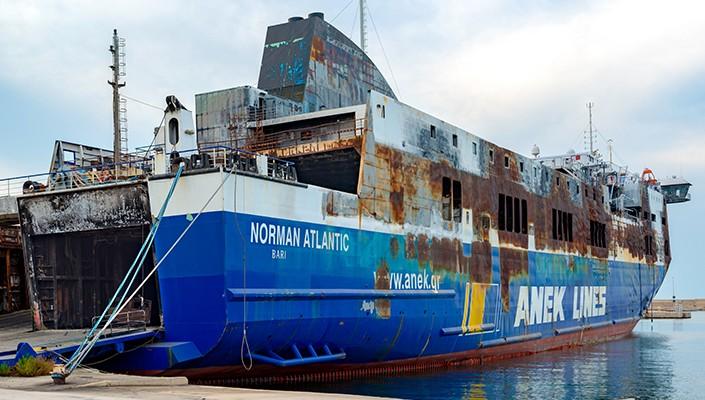 La Tragédie du «NORMAN ATLANTIC»